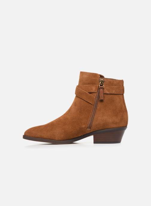 Boots en enkellaarsjes Lauren Ralph Lauren Egerton Boots Bruin voorkant