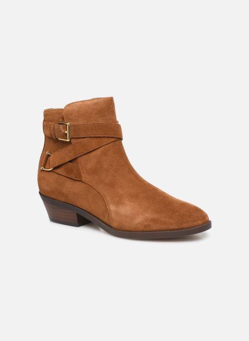 Boots en enkellaarsjes Lauren Ralph Lauren Egerton Boots Bruin detail