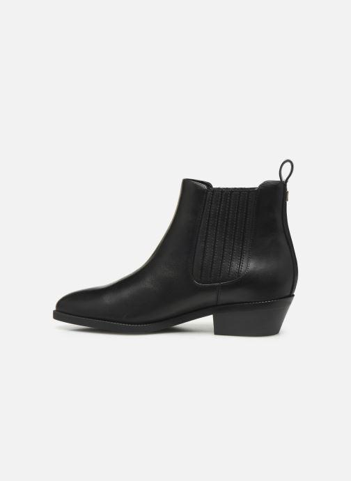 Boots en enkellaarsjes Lauren Ralph Lauren Ericka Boots BL Zwart voorkant