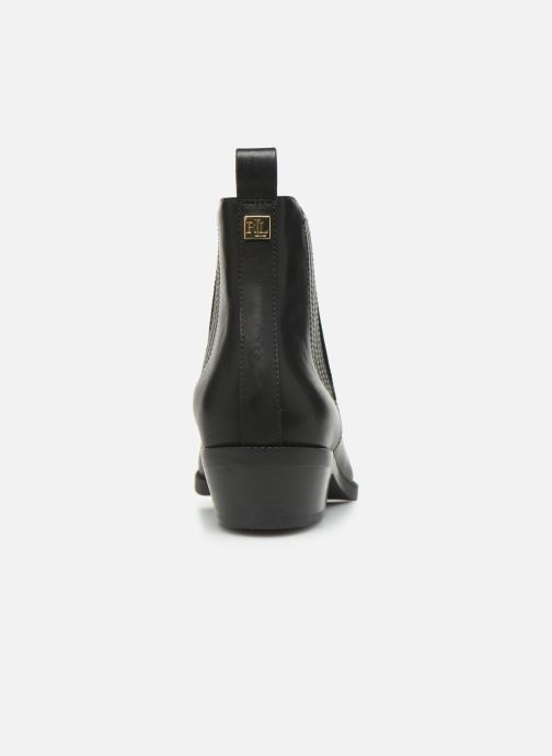 Bottines et boots Lauren Ralph Lauren Ericka Boots BL Noir vue droite