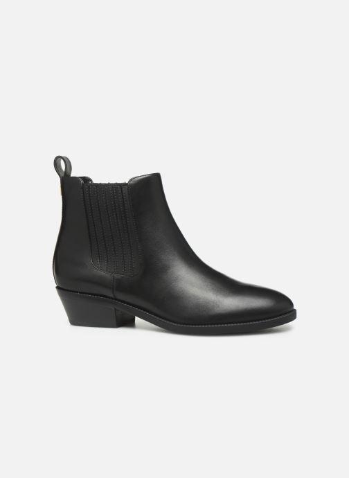 Boots en enkellaarsjes Lauren Ralph Lauren Ericka Boots BL Zwart achterkant