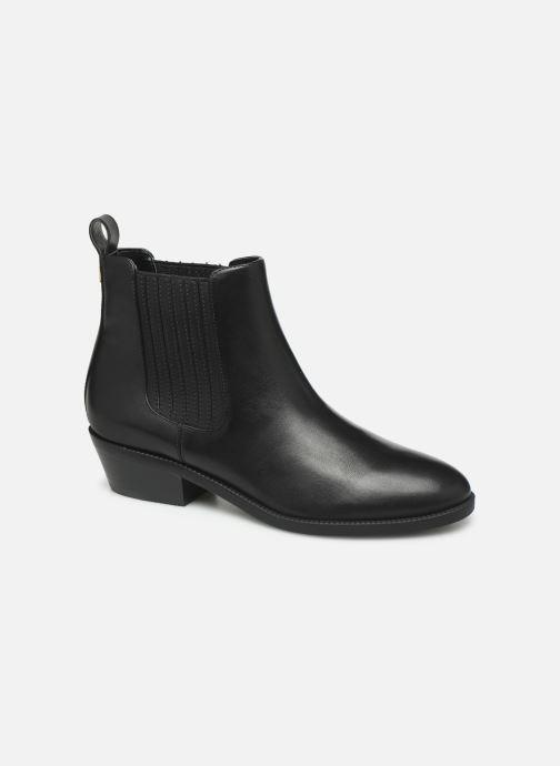 Boots en enkellaarsjes Lauren Ralph Lauren Ericka Boots BL Zwart detail