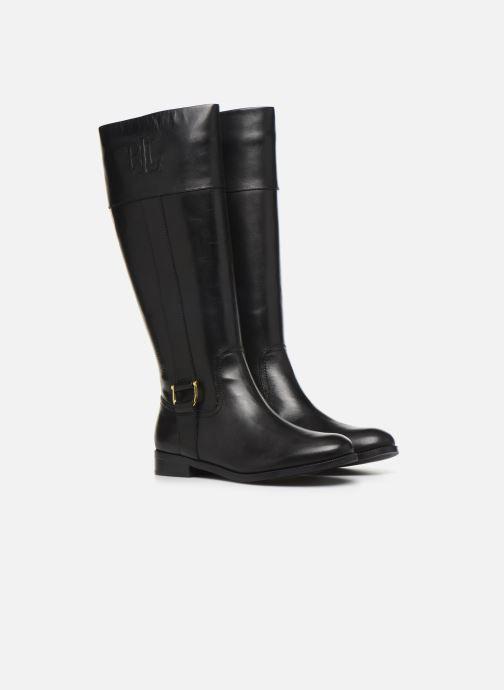 Bottes Lauren Ralph Lauren Bernadine Boots Noir vue 3/4