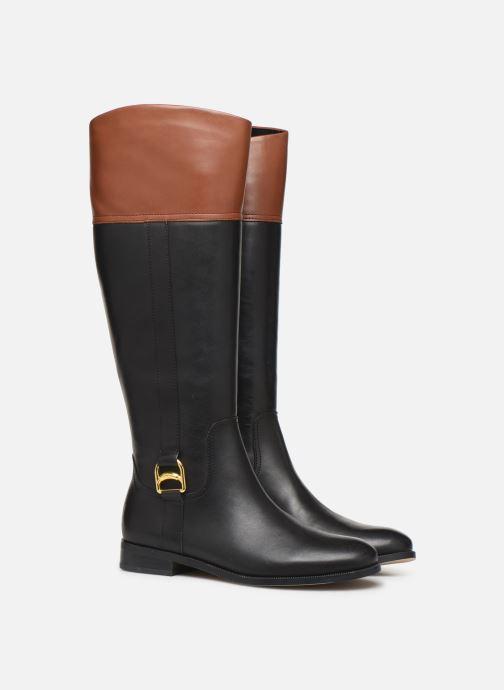 Botas Lauren Ralph Lauren Burnell Boots Negro vista 3/4