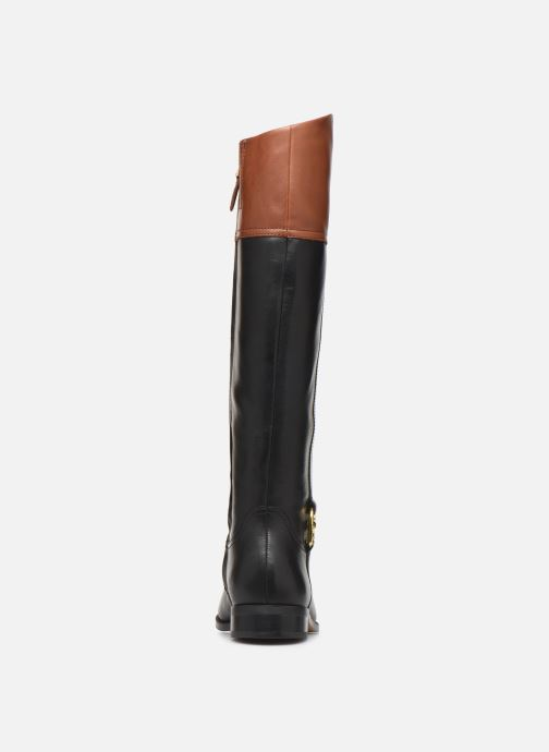 Botas Lauren Ralph Lauren Burnell Boots Negro vista lateral derecha