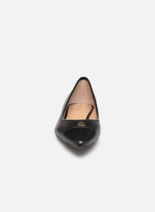 Ballerines Lauren Ralph Lauren Halena Noir vue portées chaussures