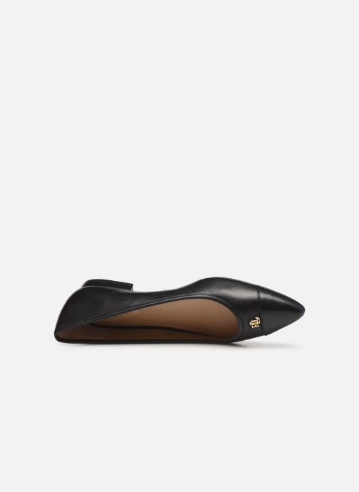 Ballet pumps Lauren Ralph Lauren Halena Black view from the left