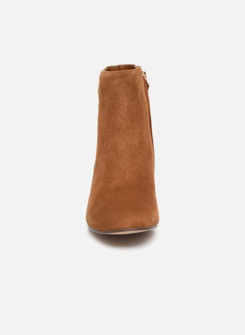 Bottines et boots Lauren Ralph Lauren Wharton Boots Marron vue portées chaussures