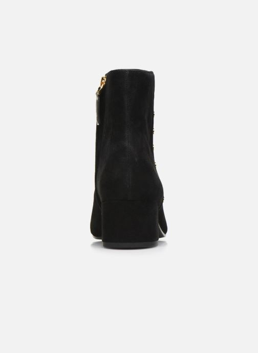 Ankelstøvler Lauren Ralph Lauren Wharton Boots Sort Se fra højre