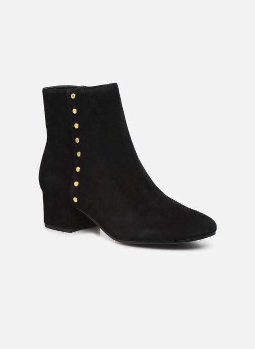 Ankelstøvler Lauren Ralph Lauren Wharton Boots Sort detaljeret billede af skoene