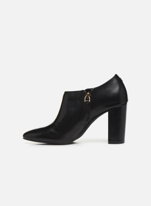 Boots en enkellaarsjes Lauren Ralph Lauren Aubree Boots Zwart voorkant