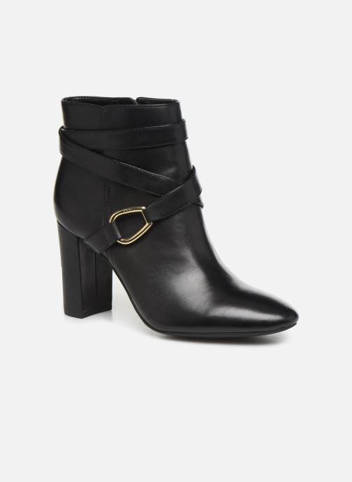 Boots en enkellaarsjes Lauren Ralph Lauren Addington Boots Zwart detail