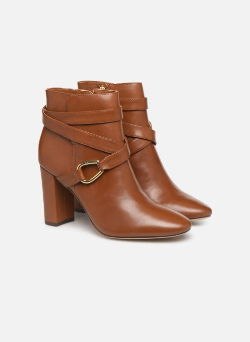 Bottines et boots Lauren Ralph Lauren Addington Boots Marron vue 3/4