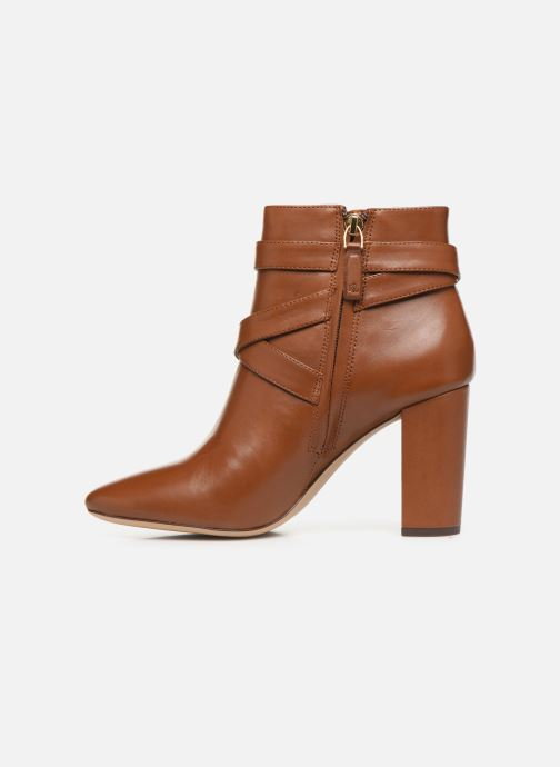 Bottines et boots Lauren Ralph Lauren Addington Boots Marron vue face