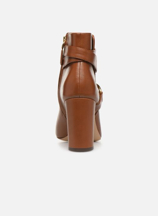 Bottines et boots Lauren Ralph Lauren Addington Boots Marron vue droite