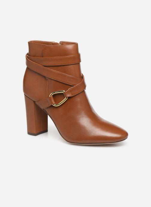 Boots en enkellaarsjes Lauren Ralph Lauren Addington Boots Bruin detail