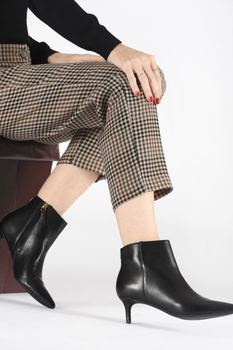 Bottines et boots Lauren Ralph Lauren Saybrook Boots Noir vue bas / vue portée sac