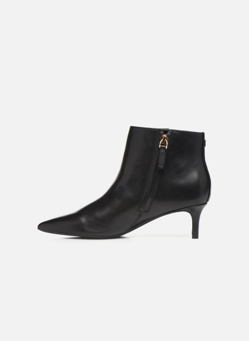 Boots en enkellaarsjes Lauren Ralph Lauren Saybrook Boots Zwart voorkant