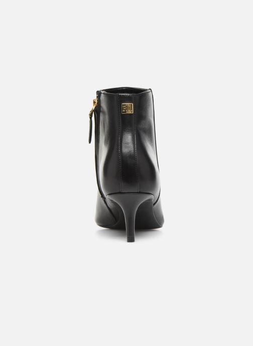 Boots en enkellaarsjes Lauren Ralph Lauren Saybrook Boots Zwart rechts