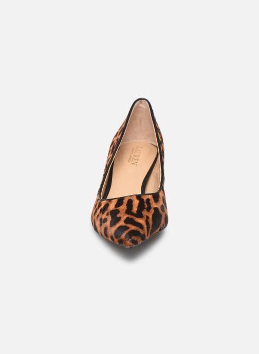 Escarpins Lauren Ralph Lauren Adrienne III Pumps Marron vue portées chaussures