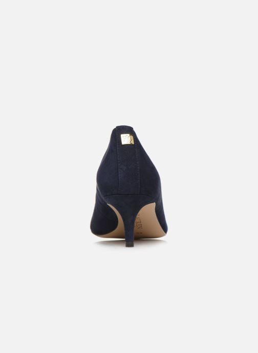 Zapatos de tacón Lauren Ralph Lauren Adrienne III Pumps Azul vista lateral derecha