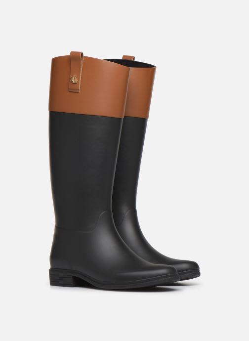 Bottes Lauren Ralph Lauren Barnes Boots Noir vue 3/4