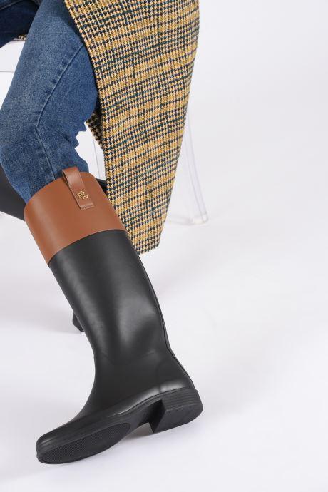 Bottes Lauren Ralph Lauren Barnes Boots Noir vue bas / vue portée sac