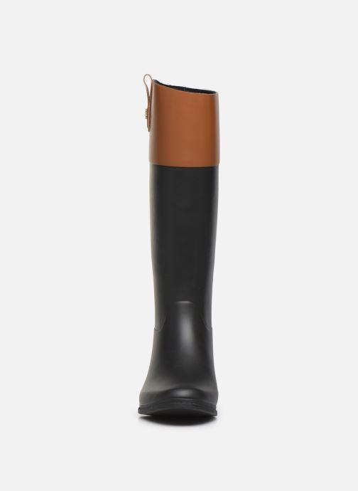 Bottes Lauren Ralph Lauren Barnes Boots Noir vue portées chaussures