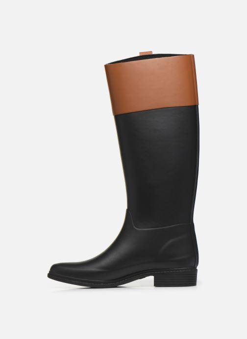 Bottes Lauren Ralph Lauren Barnes Boots Noir vue face