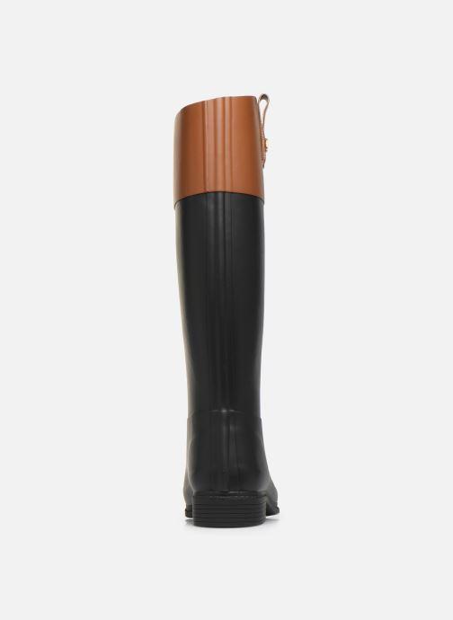 Bottes Lauren Ralph Lauren Barnes Boots Noir vue droite