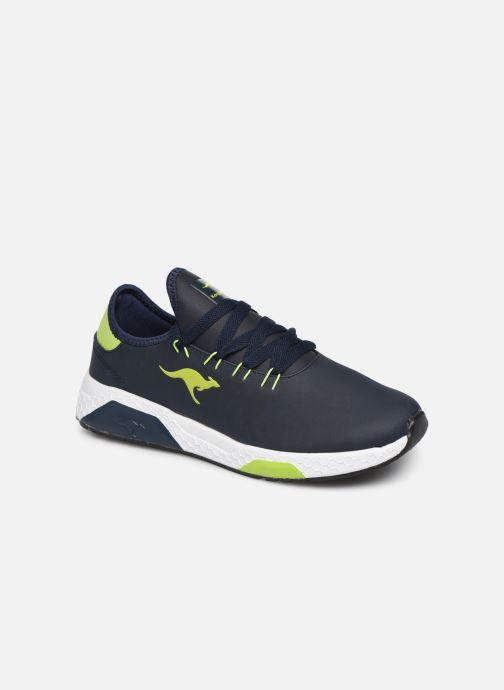 Sneakers Kangaroos Kadee Race Blauw detail