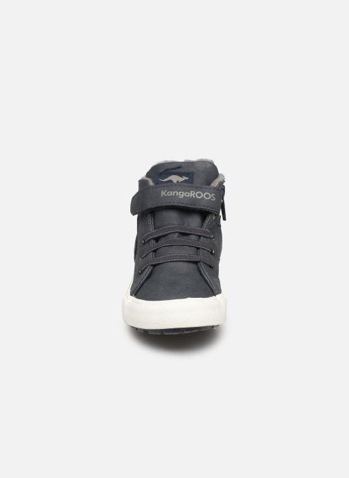 Sneaker Kangaroos KaVu III grau schuhe getragen