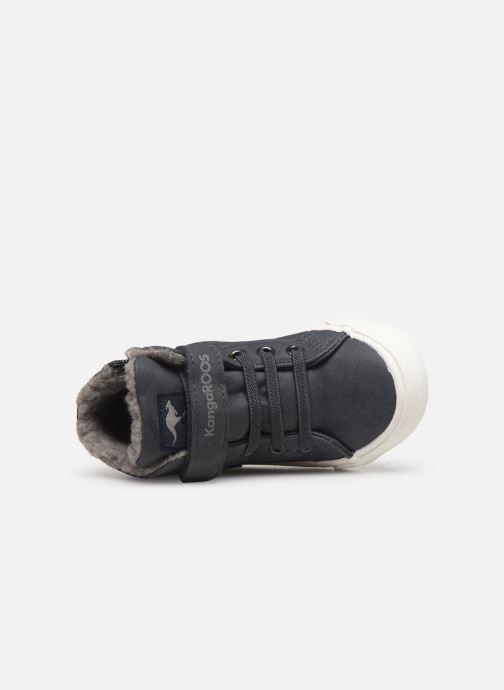 Sneaker Kangaroos KaVu III grau ansicht von links