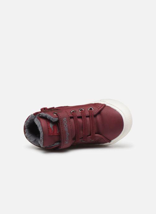 Sneaker Kangaroos KaVu III weinrot ansicht von links