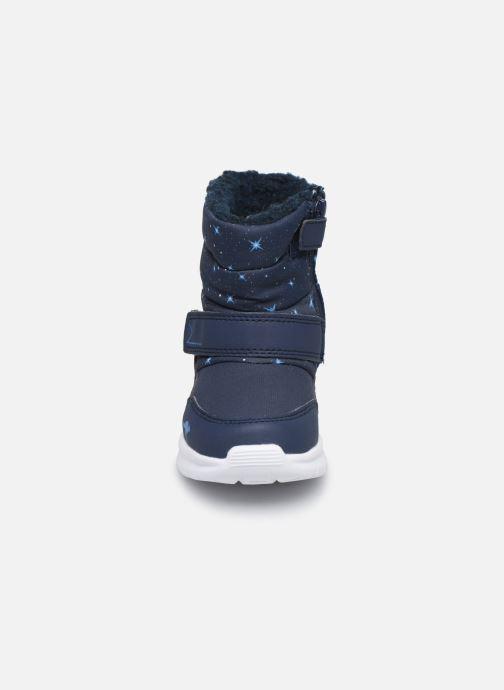 Bottes Kangaroos Icerush SL Bleu vue portées chaussures