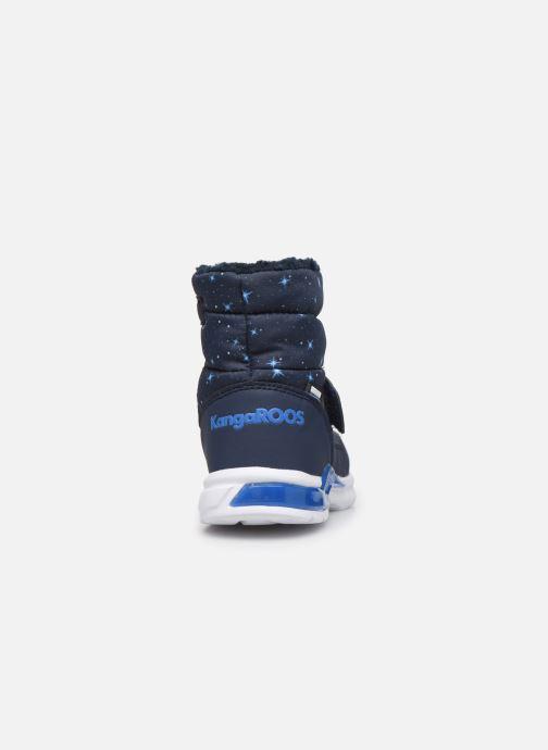 Bottes Kangaroos Icerush SL Bleu vue droite