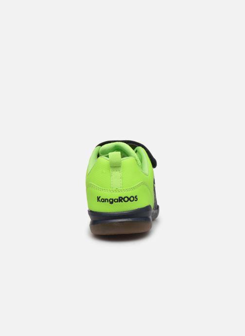 Sneakers Kangaroos Speed Court EV Blå Se fra højre