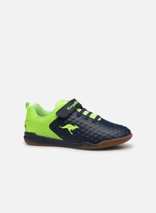 Sneakers Kangaroos Speed Court EV Blå se bagfra