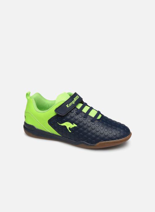 Sneakers Kangaroos Speed Court EV Blå detaljeret billede af skoene