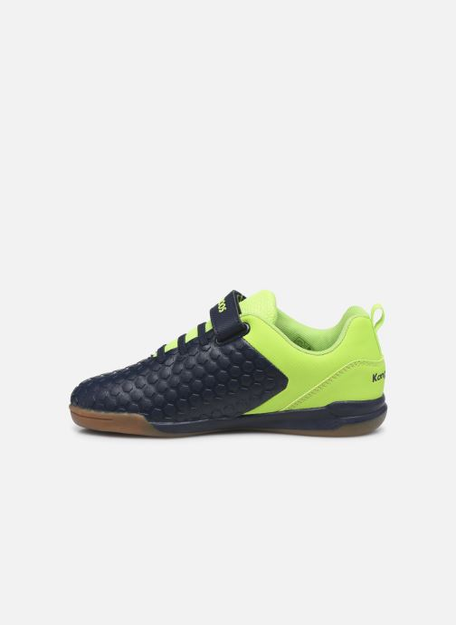 Baskets Kangaroos Speed Court EV Bleu vue face