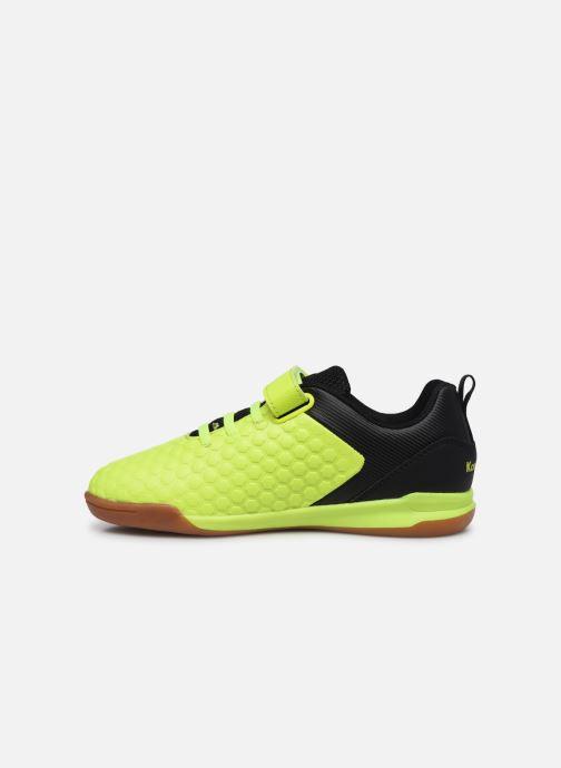 Baskets Kangaroos Speed Court EV Jaune vue face