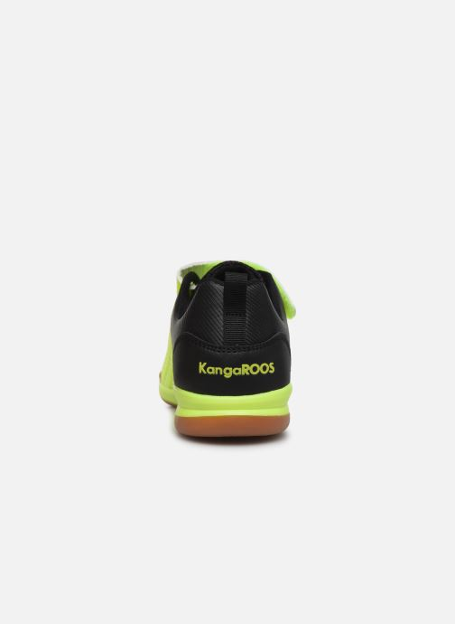 Baskets Kangaroos Speed Court EV Jaune vue droite