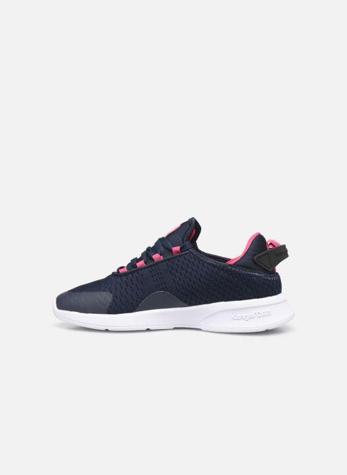Sneakers Kangaroos KF Flex Blå se forfra