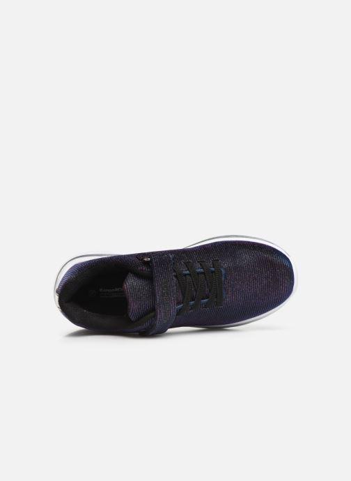 Sneaker Kangaroos Kangashine EV II blau ansicht von links