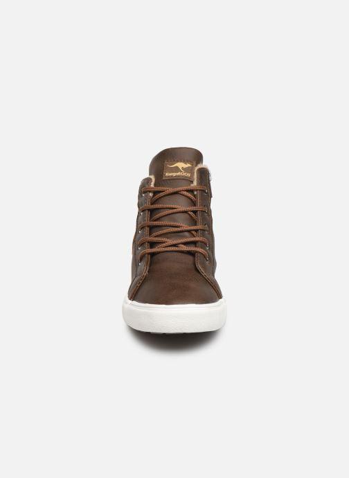 Baskets Kangaroos KaVu I Marron vue portées chaussures