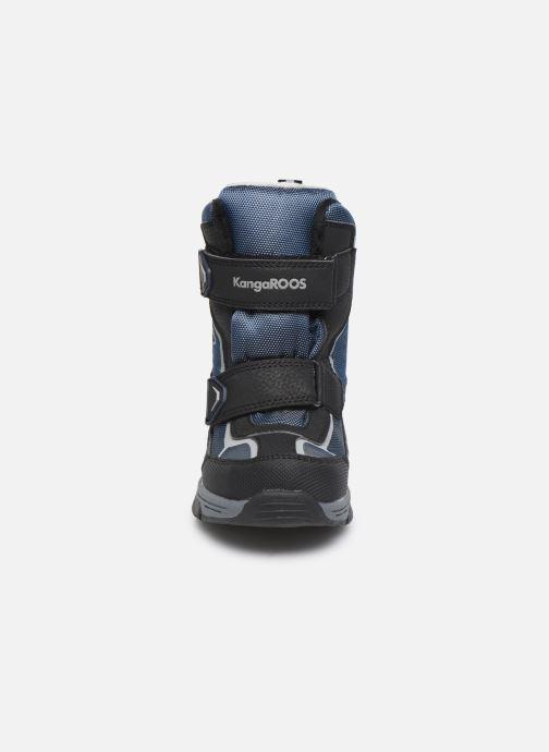 Chaussures de sport Kangaroos K-Trooper V RTX Bleu vue portées chaussures