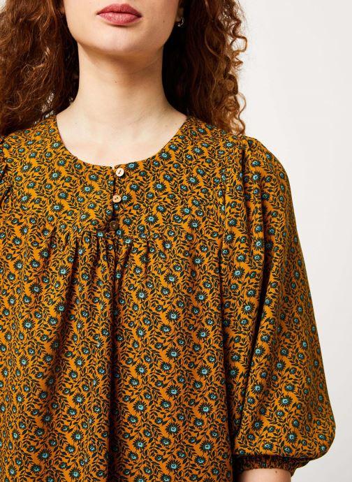 Vêtements Louche PHILYS PASSIONFLOWER Jaune vue face