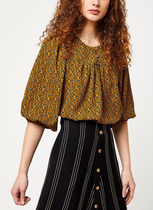 Vêtements Louche PHILYS PASSIONFLOWER Jaune vue droite