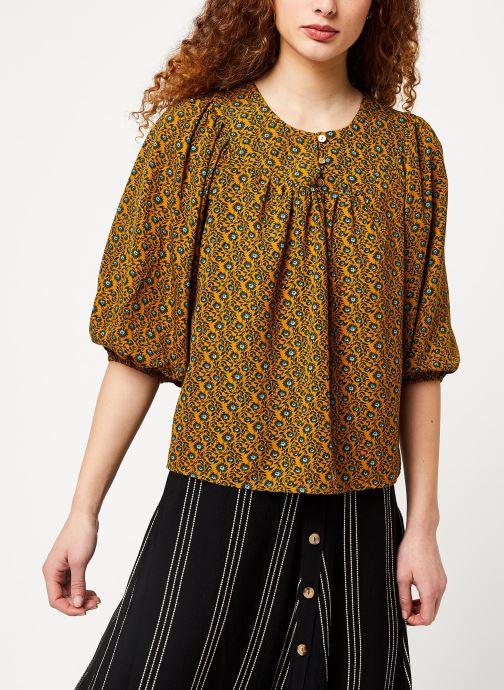 Vêtements Louche PHILYS PASSIONFLOWER Jaune vue détail/paire