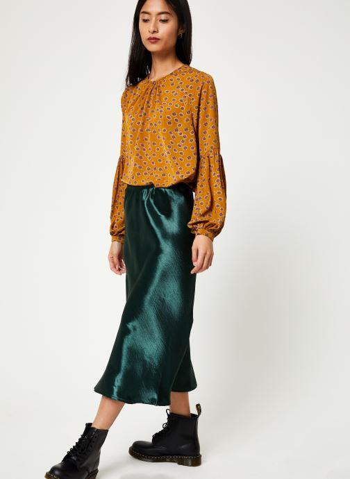 Vêtements Louche TEHANI SATIN Vert vue bas / vue portée sac